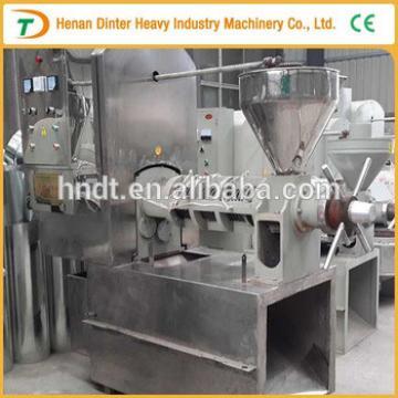High efficiency of small scale copra oil press machine